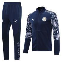 2020/21 Man City Royal Blue Jacket Tracksuit
