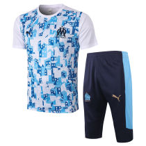 2020/21 Marseille White Training Short Tracksuit