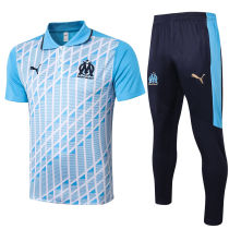 2020/21 Marseille Blue Polo Tracksuit
