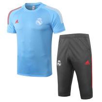 2020/21 RM Light Blue Training Short Tracksuit