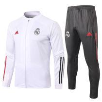 2020/21 RM White Jacket Tracksuit