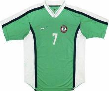 1998 Nigeria Home Green Retro Soccer Jersey