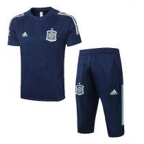 2020/21 Spain Royal Blue Training Short Tracksuit