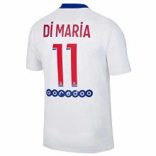 Di MARiA #11 PSG 1:1 Away Fans Soccer Jersey 2020/21