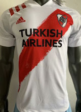 2020/21 River Plate Home Red And White Player Soccer Jerseys