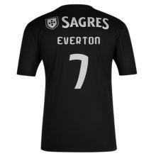 EVERTON #7 Benfica 1:1 Away Black Fans Soccer Jersey 2020/21