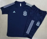2020/21 Spain Royal Blue Training Short Tracksuit