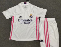 2020/21 RM Home White Kids Soccer Jersey