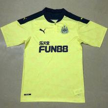 2020/21 Newcastle Away Yellow Fans Soccer Jersey