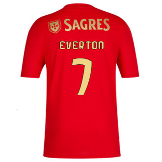 EVERTON #7 Benfica 1:1 Home Red Fans Soccer Jersey 2020/21