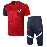 2020/21 France Red Training Short Tracksuit