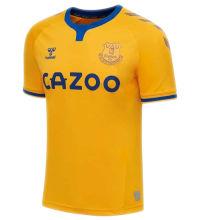2020/21 Everton Away Yellow Fans Soccer Jersey