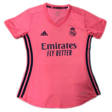 2020/21 RM Away Pink Women Soccer Jersey