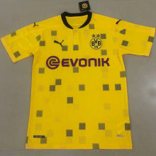2020/21 Dortmund Away Yellow Fans Soccer Jersey