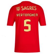 VERTONGHEN #5 Benfica 1:1 Home Red Fans Soccer Jersey 2020/21