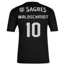 WALDSCHMIDT #10 Benfica 1:1 Away Black Fans Soccer Jersey 2020/21
