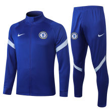 2020/21 Chelsea Blue Jacket Tracksuit