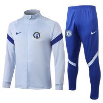 2020/21 Chelsea Grey Jacket Tracksuit