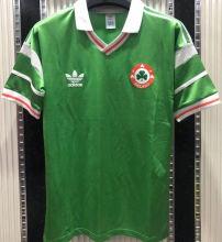 1988/90 Ireland Home Green Retro Soccer Jersey