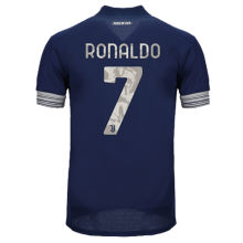 RONALDO #7 JUV 1:1 Quality Away Fans Soccer Jersey 2020/21