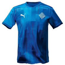2020/21 Iceland Home Fans Soccer Jersey