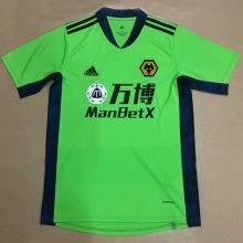 2020/21 Wolves Green GK Soccer Jersey