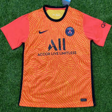2020/21 PSG Orange GK Soccer Jersey