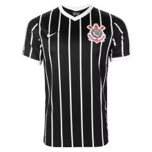 2020/21 Corinthians Away Black Fans Soccer Jersey