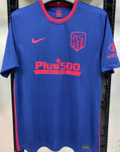 2020/21 Atletico 1:1 Quality Away Fans Soccer Jersey