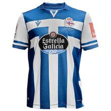 2020/21 La Coruña  Home Blue Fans Soccer Jersey