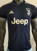 2020/21 JUV Away Blue Player Version Soccer Jersey