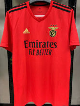 2020/21 Benfica 1:1 Quality Home Red Fans Soccer Jersey
