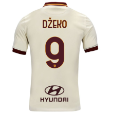 Džeko #9 AS RM 1:1 Away Fans Soccer Jersey 2020/21