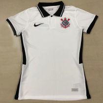 2020/21 Corinthians Home White  Women Soccer Jersey