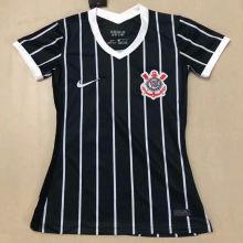 2020/21 Corinthians Away Black Women Soccer Jersey