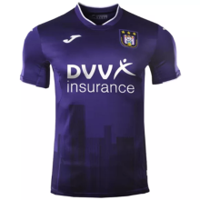 2020/21 Anderlecht Home Purple Fans Soccer Jersey