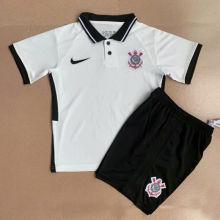 2020/21 Corinthians Home WHite Kids Soccer Jersey