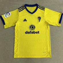 2020/21 Cadiz Home Yellow Fans Soccer Jersey