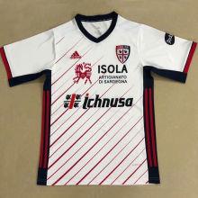 2020/21 Cagliari Away White Fans Soccer Jersey