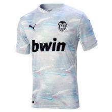 2020/21 Valencia Away Blue Fans Soccer Jersey