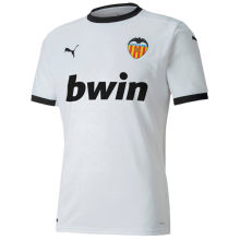 2020/21 Valencia Home White Fans Soccer Jersey