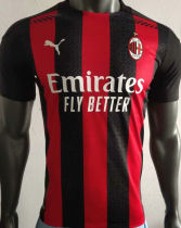 2020/21 AC Milan Home Player Version Soccer Jersey