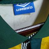 1991/93 Brazil Home Yellow Retro Soccer Jersey