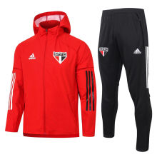 2020/21 Sao Paulo Red windbreaker Full Sets