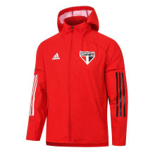 2020/21 Sao Paulo Red windbreaker