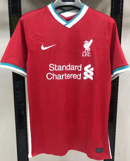 2020/21 Liverpool 1:1 Quality Home Red Fans Soccer Jersey