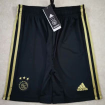 2020/21 Ajax Away Black Shorts Pants
