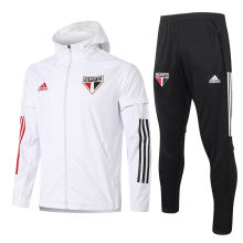 2020/21 Sao Paulo White windbreaker Full Sets