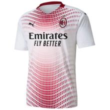 2020/21 AC Milan Away White Fans Soccer Jersey