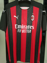 2020/21 AC Milan 1:1 Quality Home Fans Soccer Jersey
